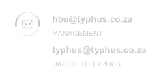 hbe@typhus.co.za typhus@typhus.co.za MANAGEMENT DIRECT TO TYPHUS
